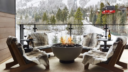 The resorts in Wyoming are not short of luxury comforts and scenic vistas