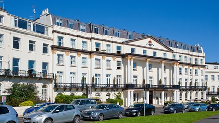 Enjoy historic architecture, old-school charm and seaside views at the Crown Spa Hotel in Scarborough
