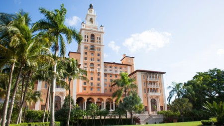 The Biltmore Hotel in Coral Gables, Florida, has some of the most beautiful balcony views in the state
