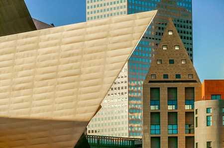 Spend the day checking out the Denver Art Museum before checking into one of the city's luxurious hotels