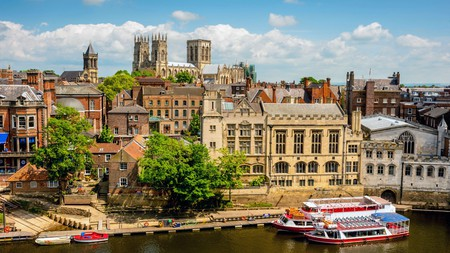 York is full to the brim with historic beauty