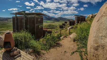 Stay in a hillside eco-loft at Encuentro Guadalupe