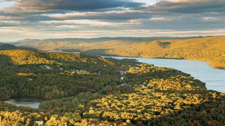 Hudson Valley is a designated National Heritage Area stretching from Manhattan to Albany