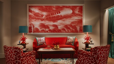 The Faena Hotel, designed by filmmaker Baz Luhrmann and the Academy Award-winning designer Catherine Martin, is one of many luxury hotels in Miami Beach