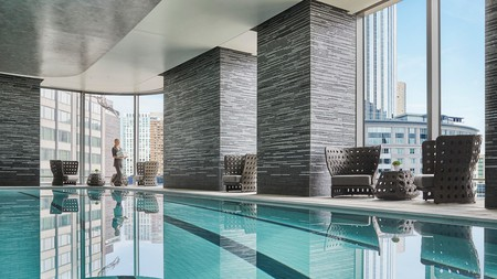 Treat yourself to a dip in the pool at these lavish Boston hotels
