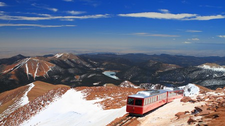 Pikes Peak should be on your itinerary when visiting Colorado Springs, Colorado, USA