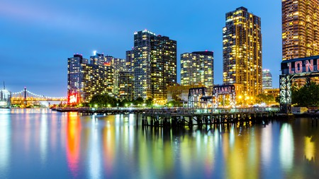 Enjoy the bright lights of Long Island City on a trip to NYC