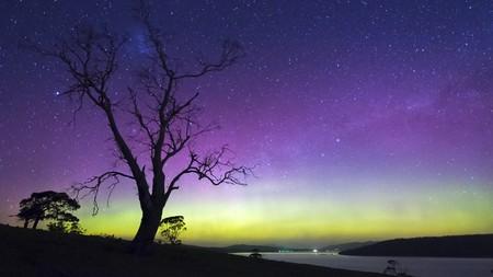 Aurora australis, Tasmania.