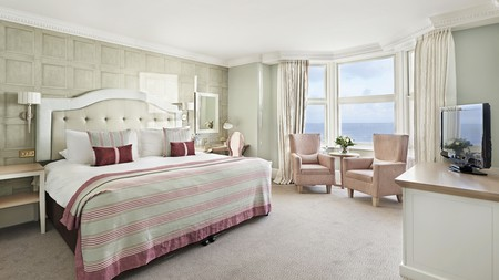 Tasteful decor and sweeping sea views abound at The Grand Brighton