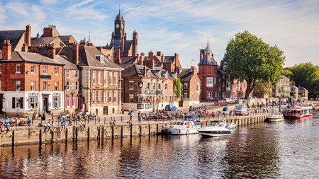 Enjoy the afternoon sunshine along the River Ouse in York