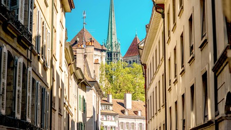 Geneva Old Town gives a glimpse into the city's medieval past