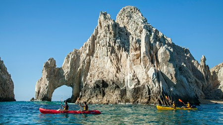 With pristine beaches and excellent nightlife, Cabo San Lucas is a popular destination on Mexico's Baja Peninsula