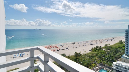 Loews Miami Beach Hotel has some incredible views from its balconies