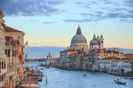 The best way to explore Venice is on the water by gondola or vaporetto