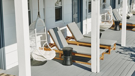Relax at the serene haven that is Hero Beach Club in Montauk, New York