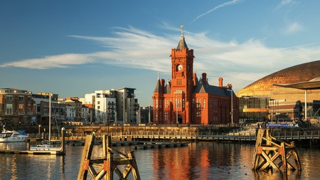 The picturesque Cardiff Bay is within walking distance of some of the city's best hotels