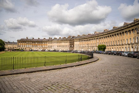 Bath, a city famous for its Roman Baths and Georgian architecture, also includes some top accommodation choices such as The Royal Crescent Hotel & Spa