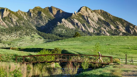 Hiking in the Flatirons is one of the best things to do on a trip to Boulder