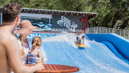 Hyatt Regency Hill Country Resort and Spa's water park has slides, pools, bars and everything else you could possibly need at a water park