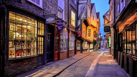 Enjoy a romantic walk down the Shambles in York