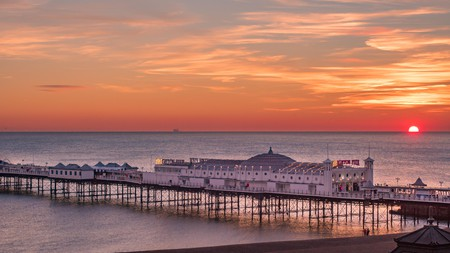 Take in Palace Pier when you do emerge from your room