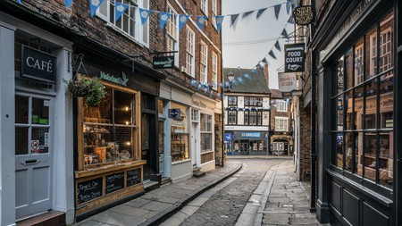 York doesn't get more atmospheric than a quiet morning on the Shambles