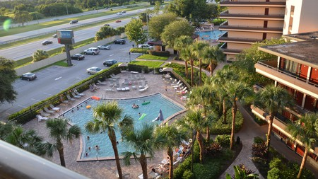 While spending less to check in at a hotel such as Rosen Inn at Pointe Orlando, you can still enjoy facilities such as an outdoor pool