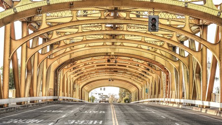 Explore Sacramento's attractions, such as the Tower Bridge, before resting at one of its comfy hotels