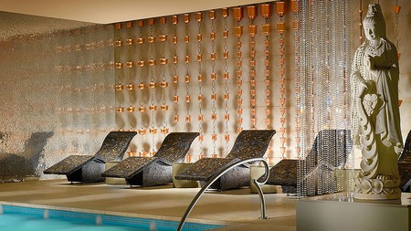 The spa at the Encore is every bit as exquisite as its prestigious location adjoining the Wynn demands