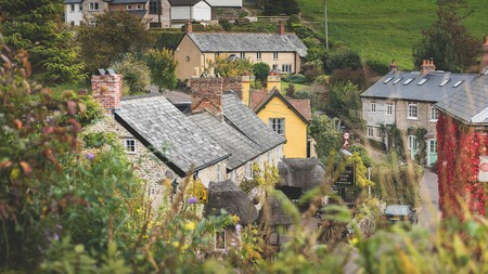 The 14th-century Masons Arms, in the village of Branscombe, oozes Disney charm