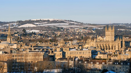 Enjoy stunning views of the city on a trip to Bath