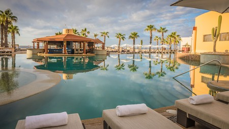 It's all about romance and relaxation at Pueblo Bonito Pacifica in Cabo San Lucas, Mexico
