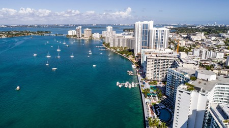 The best apartments in Florida boast bird's-eye views of Biscayne Bay and Miami Beach – and are just moments away from the action