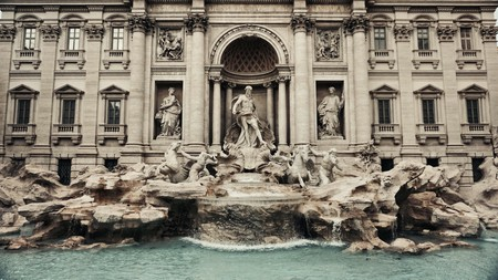A boutique hotel is a perfect place to stay in Rome while you explore sights such as the Trevi Fountain