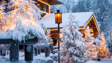 Santa Claus village in Lapland
