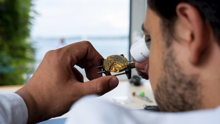 Initium workshops in Geneva offer an insight into the complex and detailed world of watchmaking