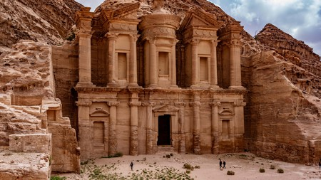 The Treasury at Petra Ruins in Jordan