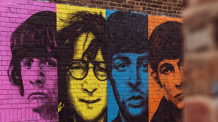 You'll find plenty of references to the Fab Four in Liverpool, including this mural in the Baltic Triangle