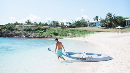Get up close and personal with the Bahamas' turquoise waters.