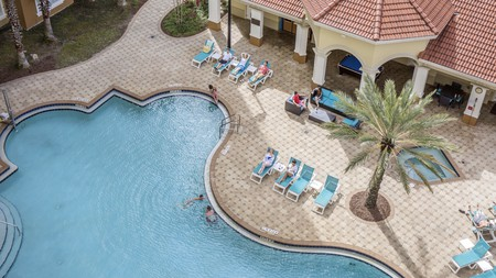 Apartments in Orlando often come with a kitchen and pool