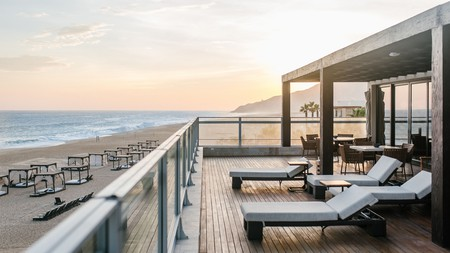 Wake up to beach views at the Towers at Pacifica