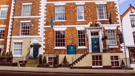 The Townhouse is a mélange of Tudor, Victorian and Georgian features