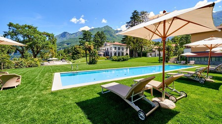 Enjoy mountain views at the Villa Lario Resort Mandello, Italy