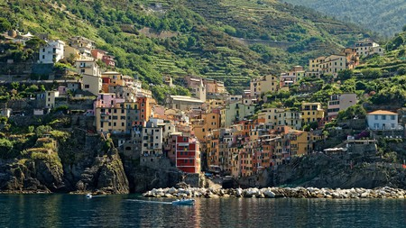 Riomaggiore is one of the Cinque Terre on the Italian Riviera that's well worth a visit