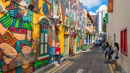 Haji Lane is Singapore's original indie neighbourhood