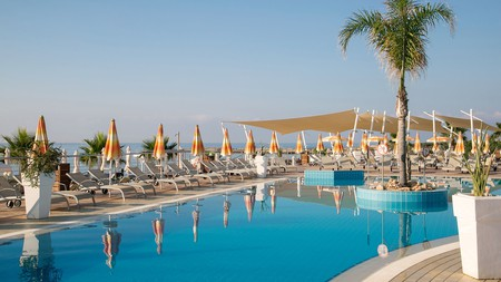 Asterias Beach Hotel in Ayia Napa, Cyprus, will make you feel like you're in paradise