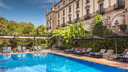 Seville offers plenty of hotels with pools by which to chill in the Andalusian heat