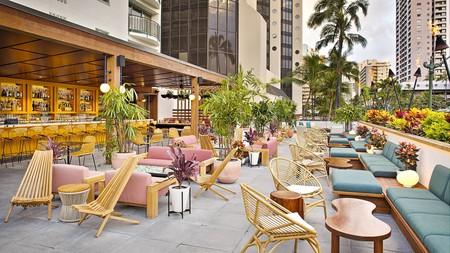 The Laylow Hotel is one of Oahu's top spots to stay with your furry friend