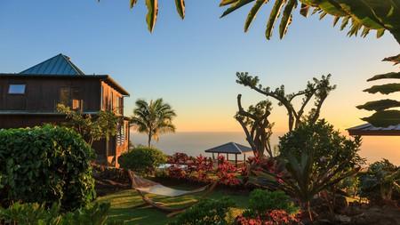 The Holualoa Inn is a charming B&B providing an intimate stay