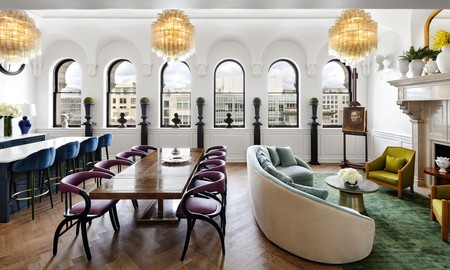The Riggs is one of DC's top-class hotels that attract both business folk and tourists